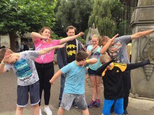 Kids at Chessington